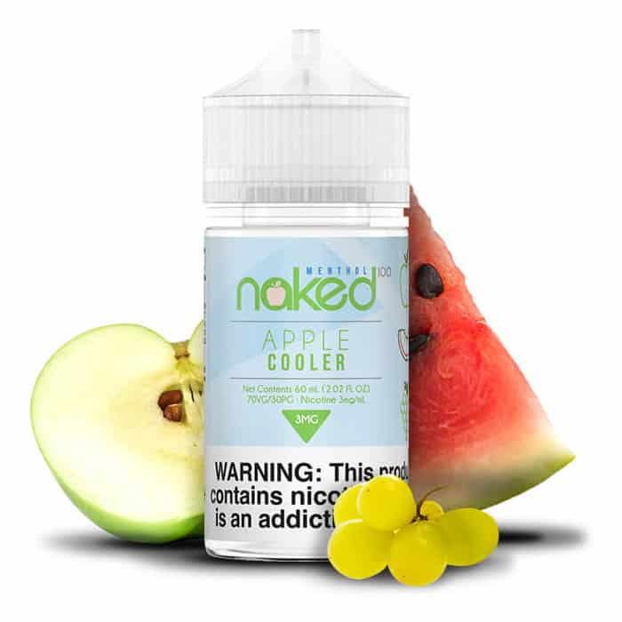 Apple Cooler Naked 100 Menthol Shortfill 50ml
