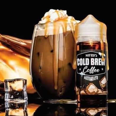 Macchiato Nitros Cold Brew Coffee Shortfill 100ml