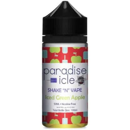 Iced Green Apple Paradise Icle Shortfill 50ml